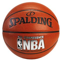 Spalding NBA All Conference PU Composite Basketball Full Size 29.5quot; NEW $17.98
