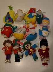 Vintage Simon Marketing Inc. 12 Days of Christmas Ornaments $84.00