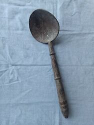 Coconut Shell Spoon Natural Kitchen Tools Traditional Eco Friendly 100% Handmade $7.99
