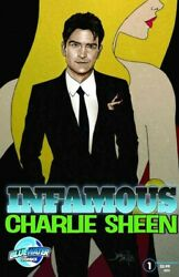Infamous : Charlie Sheen Paperback by Shapiro Marc; Grivaud Fred ART ; Wa... AU $17.80