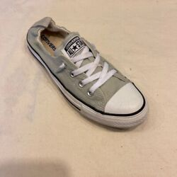 Converse All Star Womens Shoreline Sneakers Gray 5370B2F Low Top Lace Up 9 M $25.99