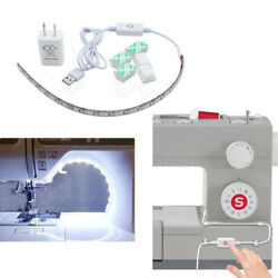 Adjustable LED Sewing Strip Light Kit Sewing Machine Flexible USB Light US Plug $10.69