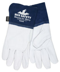 MCR Safety Gloves For Glory *MEDIUM* Leather With Kevlar Welding $9.95