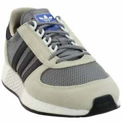 adidas Marathon Tech Lace Up Mens Sneakers Shoes Casual Brown $39.99