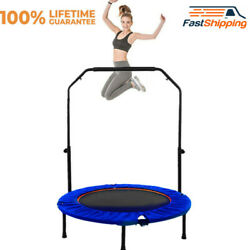 Mini Adults Kids Trampoline 40quot; Adjustable Armrest Trampoline $70.89