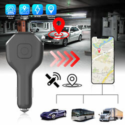 Real Time Vehicle Tracking Device Car GPS Tracker amp; USB Charger with Live Audio $30.98