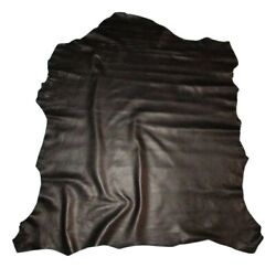 Thin 2 oz Black Economy Sheepskin Leather Hide Lambskin Bookbinding Bible $15.99
