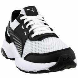 Puma Future Runner Premium Lace Up Mens Sneakers Shoes Casual White Size $24.99