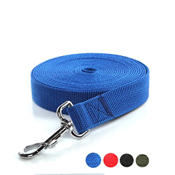 Taida Strong Durable Nylon 16 Feet Long Dog Leash 16 Foot Dog Leashes for Large $13.30