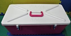 Special Mate 8quot; Hanging Plug Box Holds 120 Plugs #8128 Pink $76.95