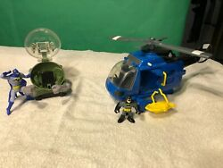 imaginext batman helicopter and robin#x27;s sub. No Robin included ages 3 8 C $30.00