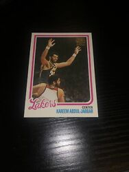 2001 02 Topps Los Angeles Lakers Kareem Abdul Jabbar Reprint # 12 of 13 $3.47