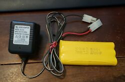 HJ Shanttou RC Charger 7.2V NiCd Battery Tested Works 700 mAmps Nikko $26.95