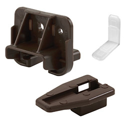 Drawer Track Guide amp; Glide Replacement Parts for Dresser Hutches Drawer Sys 2pk $10.38