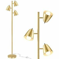 QiMH Industrial Floor Lamps for Living Room65quot;Tall Reading Standing Lamp $108.45