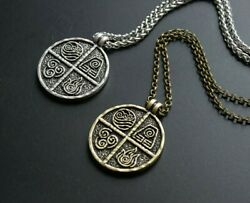 Avatar 4 Elements Necklace Pendant Bronze Silver Plated Air Fire Earth Water $19.99