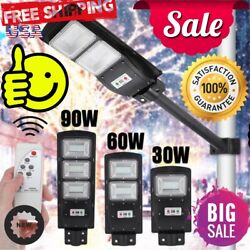 9990000LM Solar LED Street Light Commercial Outdoor IP67 Area Security Road
