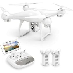 Used Potensic T35 Drone with 1080P HD Camera RC Quadcopter FPV Dual GPS Drones $93.99