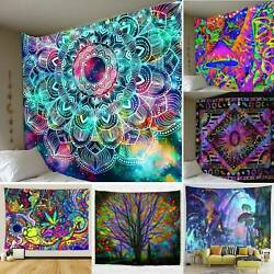 Indian Tapestry Wall Hanging Large Gypsy Bedspread Throw Mandala Blanket Decor $21.99