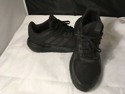 Adidas Bounce Black Athletic Shoes Men#x27;s Size 10 Alphatorsion $39.00