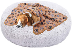 Aqueous Dog Beds for Small Medium Dogs Calming Bed for Dogs (Multiple Colors $53.99