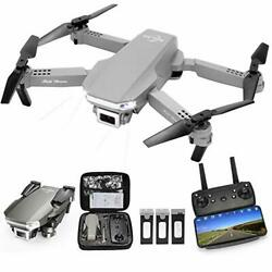 M100 RC Drone Kids with 1080P Live Video Tap Fly 3 Speed Mode Gravity Sensor $81.74