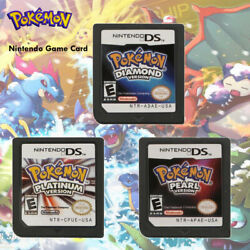 Diamond Pearl Platinum Game Card for Nintendo 3DS DSI NDS NDSL Lite Pokemon $23.88