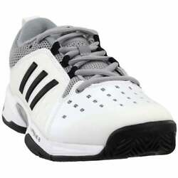 adidas Barricade Classic Wide Mens Tennis Sneakers Shoes Casual White $69.99