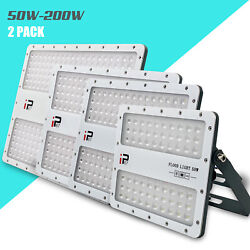 2x LED Stadium Flood Lights Outdoor Arena Commercial Lighting for Sports Fields
