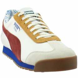 Puma Roma X Tyakasha Lace Up Mens Sneakers Shoes Casual White $69.99