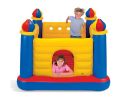 Jump O Lene Castle Inflatable Bouncer for Ages 3 6 Multicolor $62.50