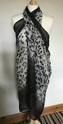 New In Bag Beach Cover Up Wrap Sarong Animal print GBP 7.95