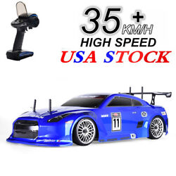 HSP Racing Drift RC Car 4wd 1:10 Electric Vehicle On Road RTR Remote Control US $159.99