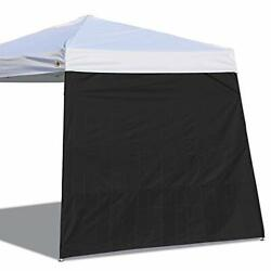 Canopy Side Wall for 10#x27;x 10#x27; Slant Leg Canopy Tent 1 Pack Sidewall Only Blac $29.85
