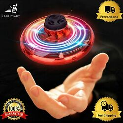 New Mini RC UFO Drone Aircraft Hand Sensing Infrared RC Helicopter Small Drone $20.99