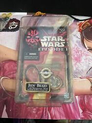 Star Wars Episode 1 Jedi Braid MOC Micro Machines Holographic Starship in case $28.99