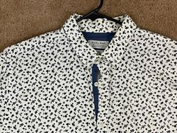 Zara Men#x27;s Designer Cocktail Dress Shirt Button Up Size L