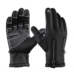 X Large Winter Motorcycle Gloves Full Finger Touch Screen Outdoor Camping $13.04