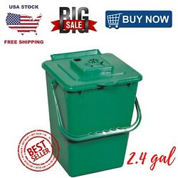 Kitchen Compost Collector Organic Waste Recycling Container Bin ECO 2.4 gal. $21.88