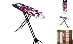 Space Saving Ironing Board Easy Storage Adjustable Height Extra Cover $89.09