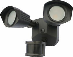 Nuvo Lighting 65 217 2 Light 4quot;W LED Commercial Flood Light Bronze