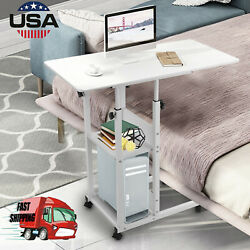 Removable Bedside Laptop Desk Home Office Lazy Coffee Table Room Sofa End Table $49.88