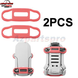 For DJI Mavic Mini Drone Propeller Blades Silicone Stabilizer Fixing Holder Red $5.88