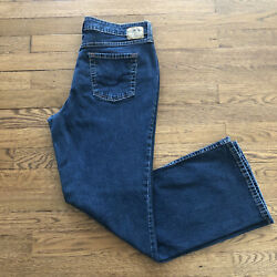 LEVIS SIGNATURE Womens At Waist Bootcut Jeans Size Misses 12 Short Blue Jeans $19.99