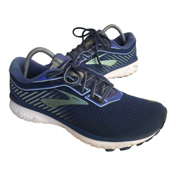 Brooks Ghost 12 Womens Size 10.5 Blue Athletic Running Walking Shoes Sneakers $33.95