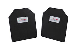 Tactical Scorpion Body Armor Plate Trauma Pads Backers Pair 10mm 10x12 For AR500 $15.95