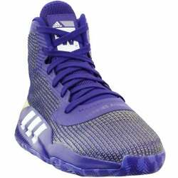 adidas Sm Pro Bounce 2019 Team Mens Basketball Sneakers Shoes Casual $79.99