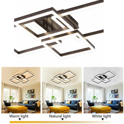 Ceiling Lights LED Chandelier Lighting Fixture Hanging Lamps Geometric Design US $132.10