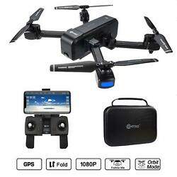 Contixo F22 RC Foldable Quadcopter Drone with Wi Fi Camera GPS and Storage Case $174.95