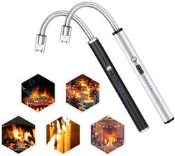 Arc Electric BBQ Lighter USB Rechargeable Long Neck for Candle Camping Kitchen $11.99